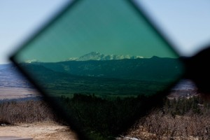 Rocky Mountains Seen Through New Energy Technologies' Electricity-Generating SolarWindow™