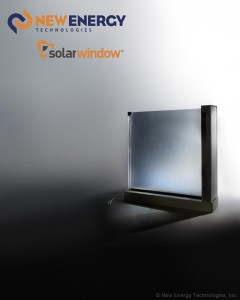 Concept model of SolarWindow™ Insulated Glass Unit (IGU)