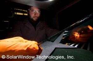Dr. Scott Hammond, Principal Scientist, SolarWindow Technologies, Inc., Setting Up for SolarWindow™ Mini-Module Performance Measurement