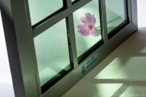 Transparent SolarWindow™ Unit Capable of Generating Electricity