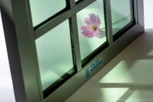 Transparent SolarWindow™ Unit Capable of Generating Electricity