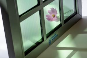 Transparent SolarWindow™ Generates Electricity